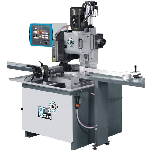 cut-off saw / for steel / semi-automatic