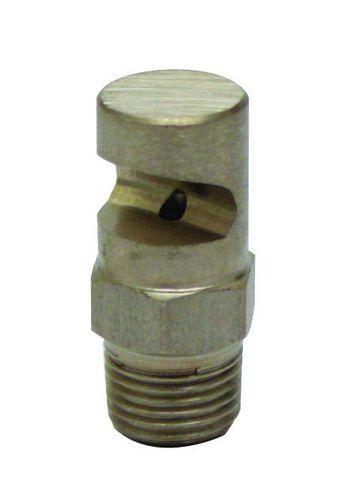 spray nozzle / steam / flat spray / brass