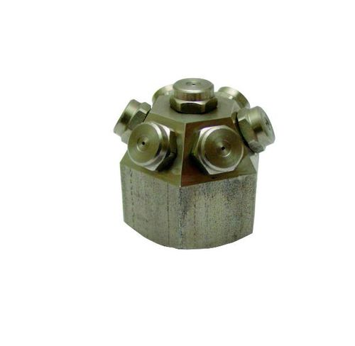 spray nozzle / cooling / for liquids / full-cone