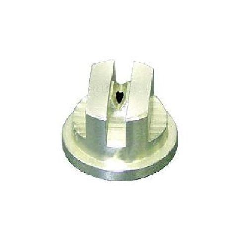 spray nozzle / cleaning / for liquids / flat spray