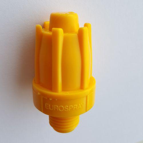 spray nozzle / for compressed air / full-cone / plastic