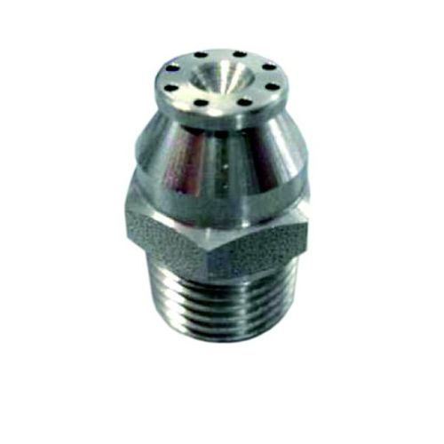spray nozzle / for compressed air / stainless steel
