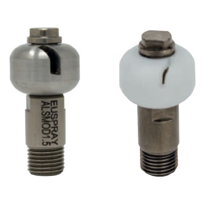 washing nozzle / for liquids / stainless steel / for the food industry