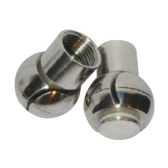 washing nozzle / for liquids / PTFE / stainless steel