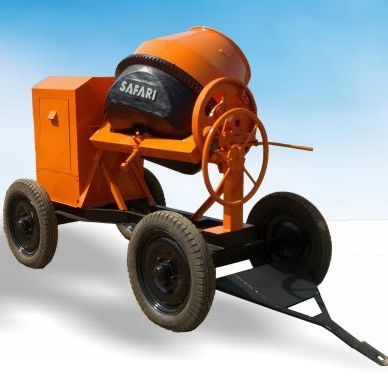 diesel engine concrete mixer / mobile / traditional