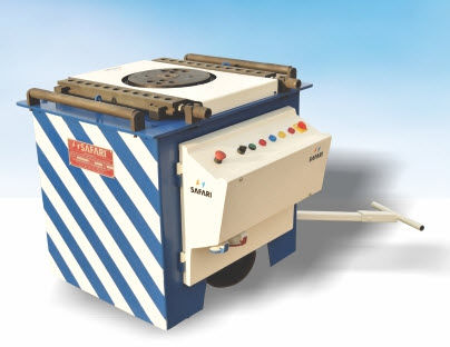 electromechanical bending machine / bar / automatic / mobile