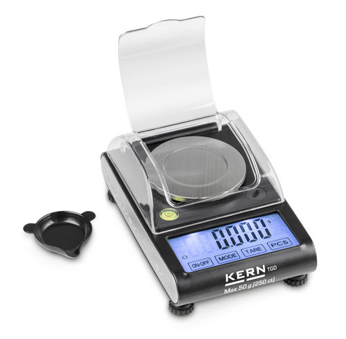 pocket balance / digital / compact / for jewelery