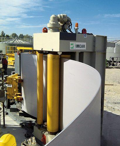 vertical plate bending machine - IMCAR