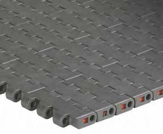 modular conveyor belt / plastic / for heavy loads