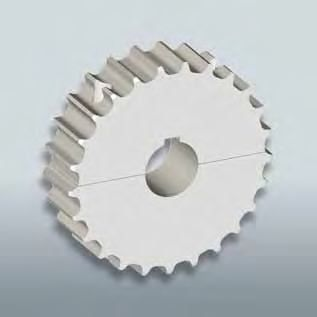 straight-toothed sprocket wheel / hub