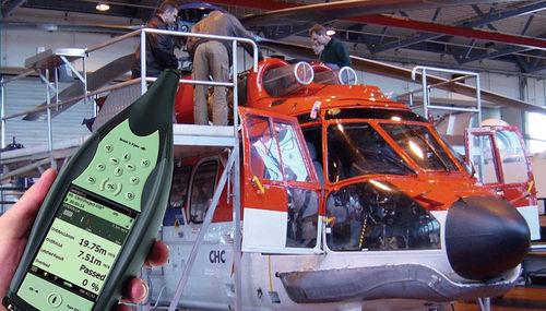 helicopter engine vibration analyzer
