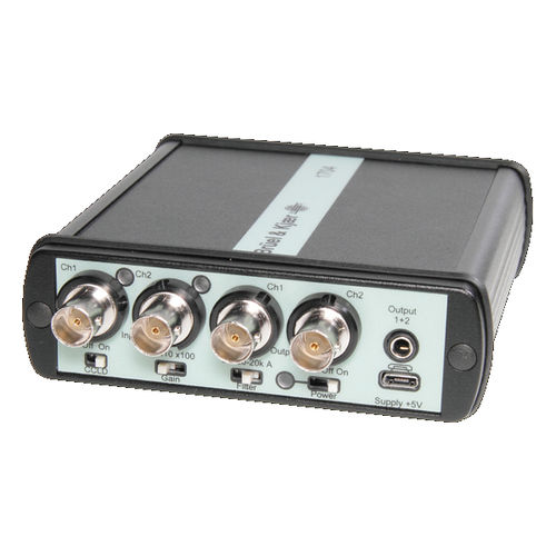 USB signal conditioner / amplifier / for piezoelectric transducers