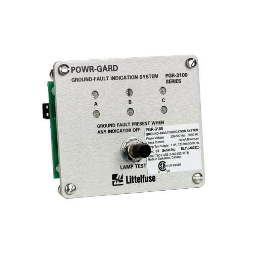 ground fault indicator / voltage / LED / panel-mount