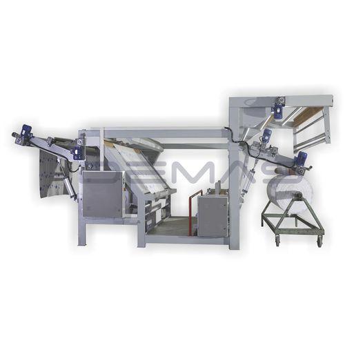 fabric plaiting machine