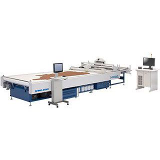 textile cutting machine / for leather / knife / NC