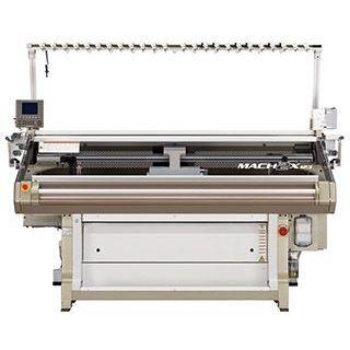 flat knitting machine