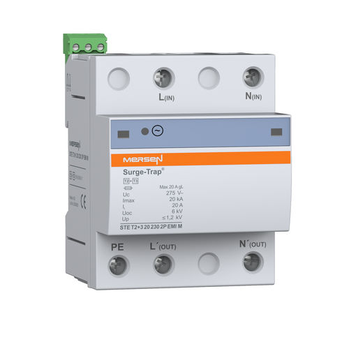 type 3 surge arrester / DIN rail