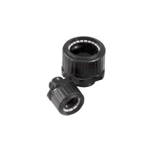 screw-in fitting / straight / polyamide / IP65