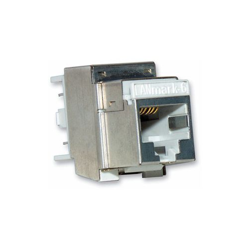 RF connector / Ethernet / square / socket