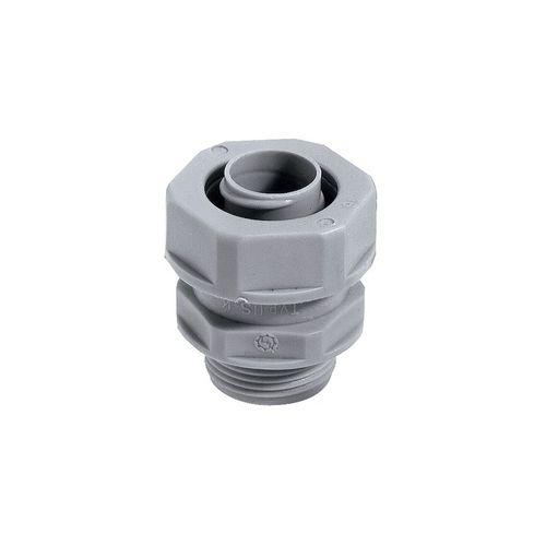 screw-in fitting / straight / polypropylene / IP54