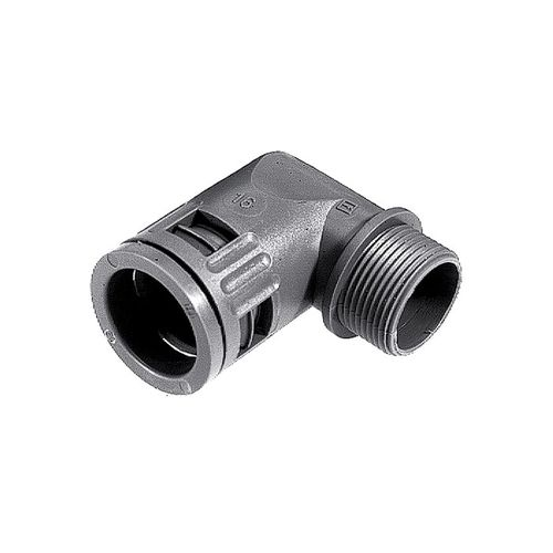 screw-in fitting / 90° angle / polyamide / UV-resistant