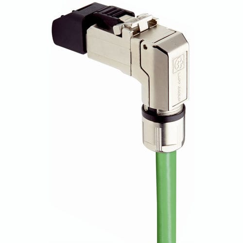 data connector / RJ45 / Ethernet / elbow