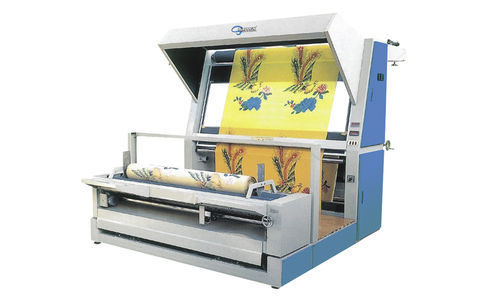 fabric inspection machine with winder