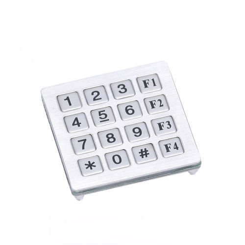 16-key keypad