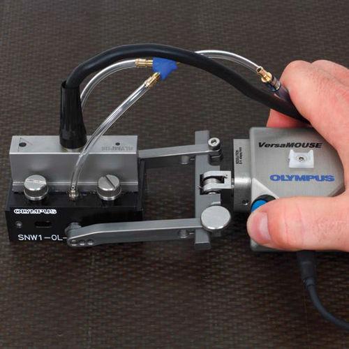 2D scanner / for NDT / laser / ultrasonic