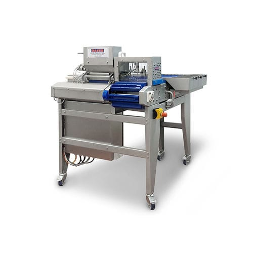 meat skewer machine / automatic / continuous / pneumatic