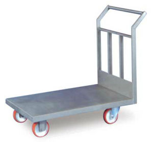 transport cart / stainless steel / multipurpose / for the food industry