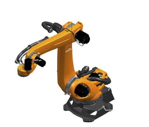 articulated robot / 5-axis / palletizing / high-speed