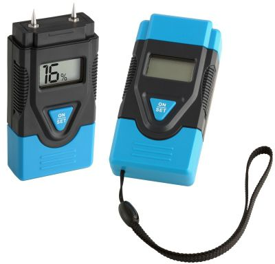 solids moisture meter / pin / with digital display / portable