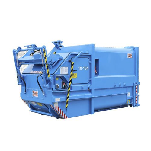 stationary waste compactor