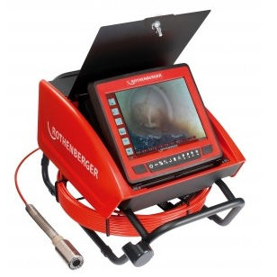 camera inspection system / digital / for pipes / video