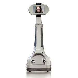 mobile telepresence robot / with integrated camera