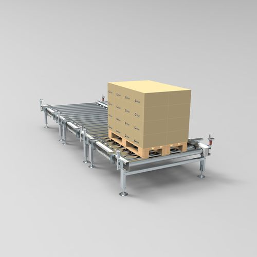 roller conveyor / for the food industry / for the pharmaceutical industry / for the automotive industry