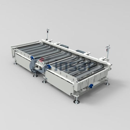roller conveyor / chain / for the food industry / for the pharmaceutical industry