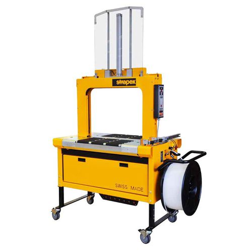 fully-automatic strapping machine / for cartons / for ceramic products / box