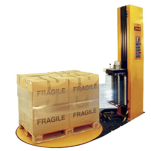 turntable stretch wrapper / semi-automatic / for cardboard boxes / package