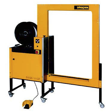 automatic strapping machine / for bulky products / for heavy loads / lateral