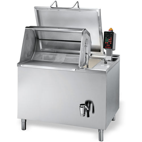 pasta industrial cooker / for meat / boiling / automatic