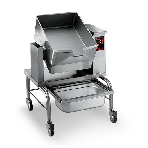 deep-fat industrial fryer
