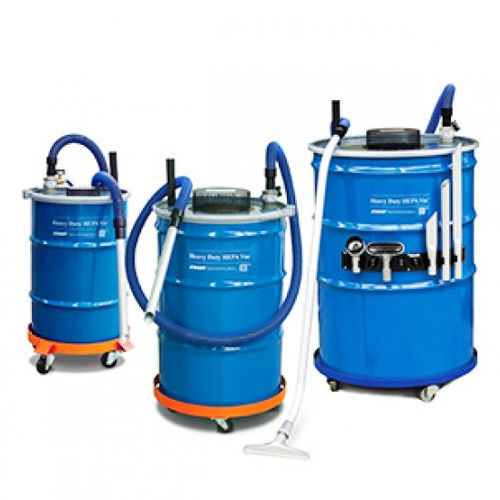 dry vacuum cleaner / compressed air / for clean rooms / mobile