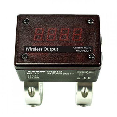 mass flow meter / thermal / for compressed air / digital