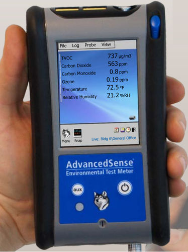 carbon monoxide detector / toxic gas / ammonia / gas