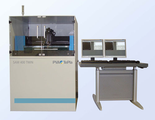 analysis microscope / for research / high-speed / scanning acoustic