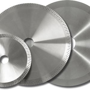 circular saw blade / cutting / diamond / for steel