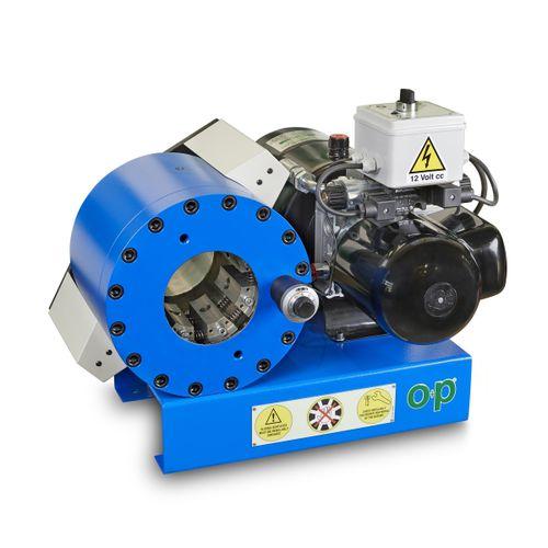 hose crimping machine / hydraulic hose / automatic / hydraulic