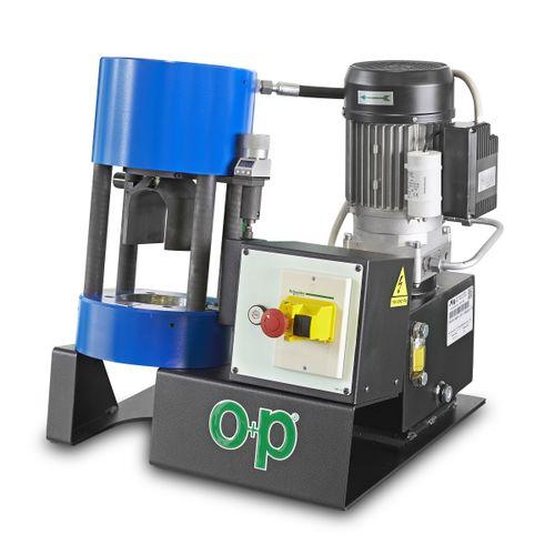 hose crimping machine / hydraulic hose / automatic / vertical